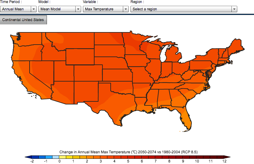 USGS and Partners Launch Website with County-by-County Climate Projections