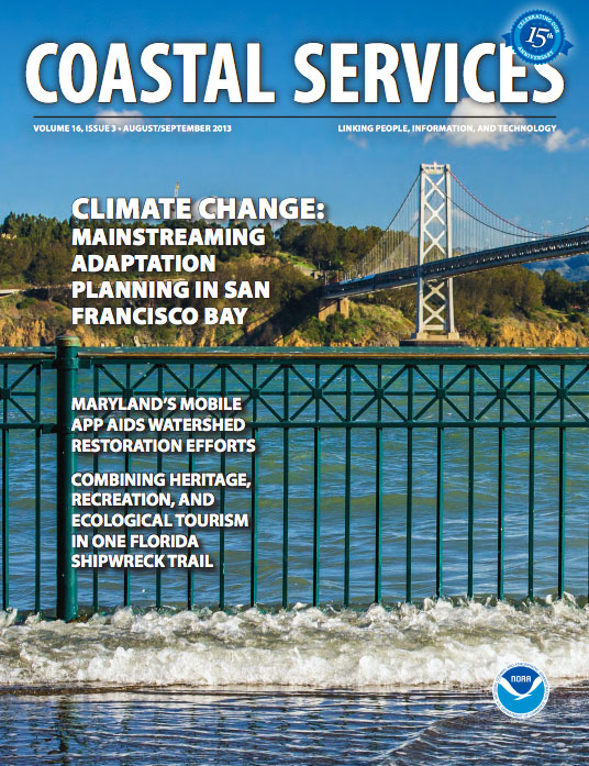 Coastal Services Magazine cover